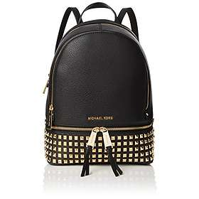 f2a0cc72b48d7 Find the best price on Michael Kors Rhea Medium Studded Leather Backpack  (Women s)