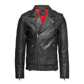 Selected Homme Slhjake Biker Leather Jacket (Herr)
