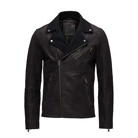 Selected Homme Slhray Wool Leather Jacket (Herr)