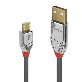 Lindy Cromo Line USB A - USB Micro-B 2.0 3m