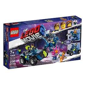 LEGO The Lego Movie 2 70826 Rex Rex-trema terrängbil!