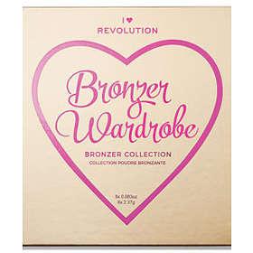 Makeup Revolution I Heart Revolution Wardrobe Bronzer 8x2,37g