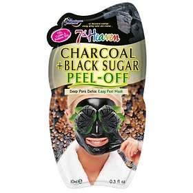 Montagne Jeunesse 7th Heaven Charcoal + Black Sugar Peel-Off Mask 10ml