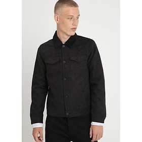 Burton Suedette Trucker Collar Jacket (Herr)