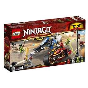 LEGO Ninjago 70667 Kais vassa motorcykel & Zanes snöskoter