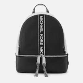6bd3b17dba8b Find the best price on Michael Kors Rhea Medium Logo Tape Leather ...
