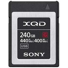 Sony G Series XQD 440/400MB/s 240GB