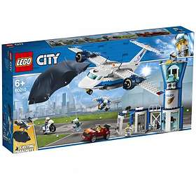 LEGO City 60210 Politiets flybase