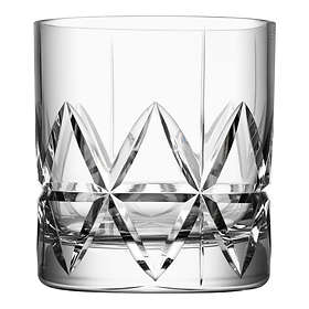 Orrefors Peak Double Old Fashioned Whiskyglas 34cl 4-pack