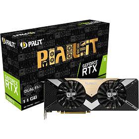 Palit GeForce RTX 2080 Ti Dual HDMI 3xDP 11Go