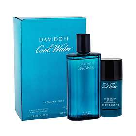 Davidoff Cool Water edt 125ml + Deostick 75ml for Men