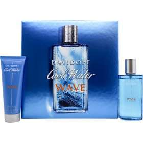 Davidoff Cool Water Wave edt 75ml + SG 75ml for Men