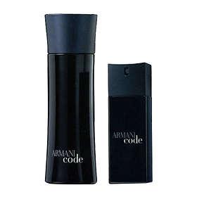 Giorgio Armani Code edt 75ml + edt 15ml for Men