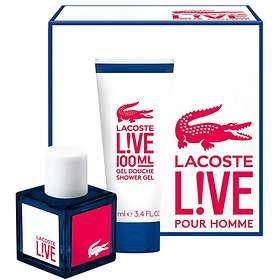 Lacoste Live edt 100ml + SG 100ml for Men
