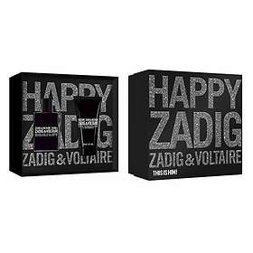 Zadig And Voltaire This Is Him! edt 50ml + 2x SG 50ml for Men