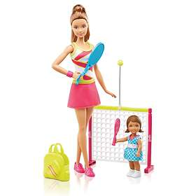 Barbie Careers Tennis Coach Playset Doll DVG15