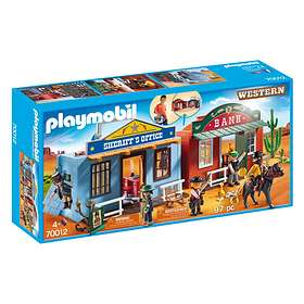 Playmobil Western 70012 Take Along Western City
