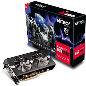 Sapphire Radeon RX 590 Nitro+ (11289-05) 2xHDMI 2xDP 8Go
