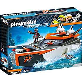 Playmobil Top Agents 70002 SPY TEAM Turboship