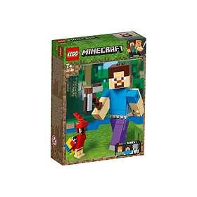 LEGO Minecraft 21148 BigFig Steve ja Papukaija