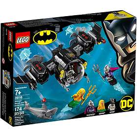 LEGO DC Comics Super Heroes 76116 Batman Batubåt och undervattenskampen