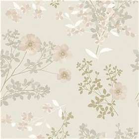 Boråstapeter In Bloom Prairie Rose (7231)