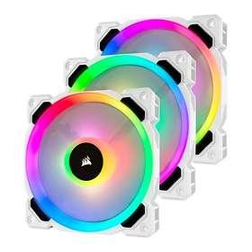 Corsair LL120 Dual Light Loop RGB White PWM 120mm LED 3-pack