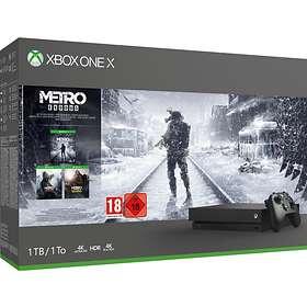 Microsoft Xbox One X 1To (+ Metro Exodus)