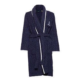 Ralph Lauren Cable Terry Shawl Collar Robe (Dam)
