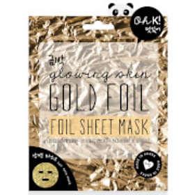 Oh K! Glowing Skin Gold Foil Sheet Mask 24ml