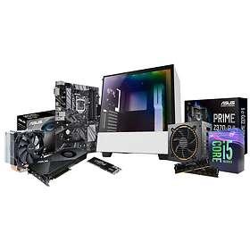 Elkjøp Edge DIY PC i deler Intel 2070 - 3,7GHz HC 16GB 500GB