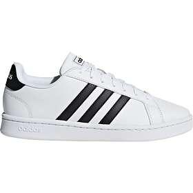 Billige Adidas Essentials Sko , Grand Court Dame Svart