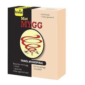 Trinol Myggspiral 10-pack