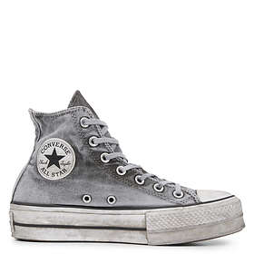 Converse Chuck Taylor All Star Lift Smoked Canvas Hi Top (Unisex)