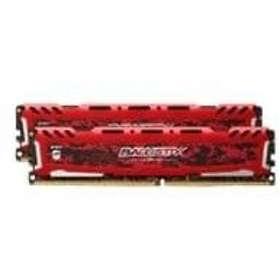 Crucial Ballistix Sport LT Red DDR4 3200MHz 2x8GB (BLS2K8G4D32AESEK)