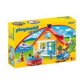 Playmobil 1.2.3 9527 Maison de vacances