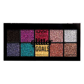 NYX Glitter Goals Cream Pro Eyeshadow Palette