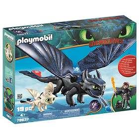 Playmobil Dragons 70037 Tandlöse och Hicke med drakunge