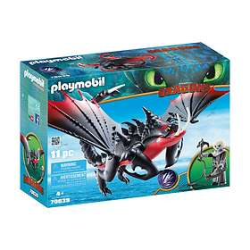 Playmobil Dragons 70039 Deathgripper with Grimmel