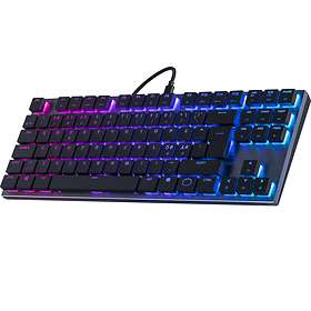 Cooler Master SK630 Cherry MX Low Profile Red (Nordisk)