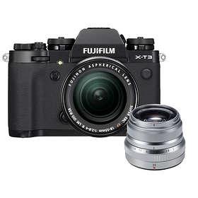Fujifilm X-T3 + 18-55/2,8-4,0 OIS + 35/2,0 R WR
