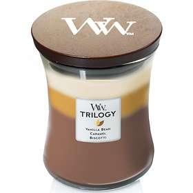 WoodWick Trilogy Medium Tuoksukynttilät Cafe Sweets