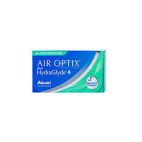 Alcon Air Optix Plus HydraGlyde for Astigmatism (3-pakning)