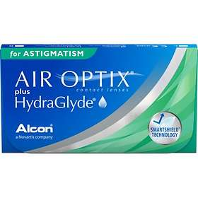 Alcon Air Optix Plus HydraGlyde for Astigmatism (6-pakning)