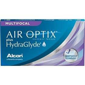 Alcon Air Optix Plus HydraGlyde Multifocal (3-pack)