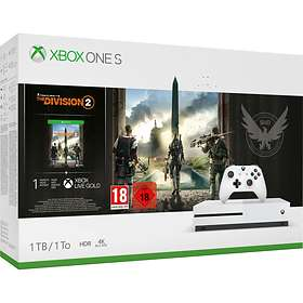 Microsoft Xbox One S 1TB (inkl. Tom Clancy's The Division 2)