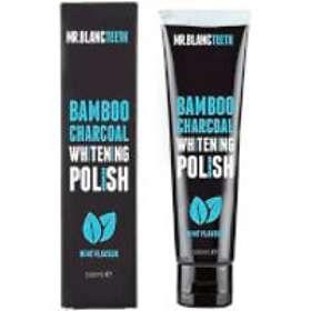 Mr. Blanc Teeth Bambo Charcoal Whitening Polish 100ml