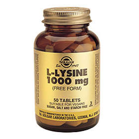 Solgar L-Lysine 1000mg 50 Tabletter
