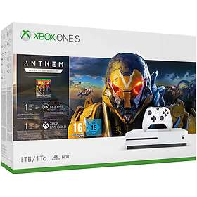 Microsoft Xbox One 1TB (inkl. Anthem Legion of Dawn)