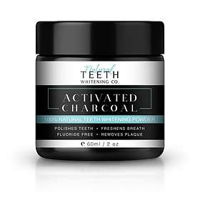 Natural Teeth Whitening Co. Activated Charcoal Teeth Whitening Powder 60g